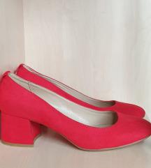 Crvene cipele na nisku petu - 38