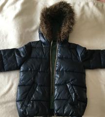 Dječja Sisley zimska jakna
