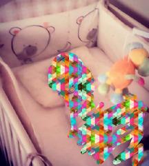 Dječji krevetić + posteljina