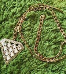 Lančić s privjeskom dijamanta