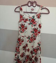 Skater cvjetna haljina