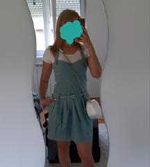 %AKCIJA% Please tirkizna haljina (traper) M/L