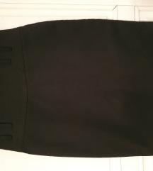 Crna suknja L