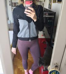 Zoe hoodica crno siva