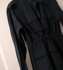 Tamnoplava haljina Zara