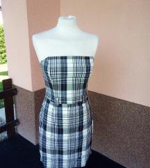 Karirana haljina, veličina M
