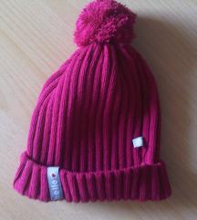 NOVA crvena dječja zimska kapa s coflekom v. 49