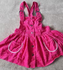 H&M pink haljinica