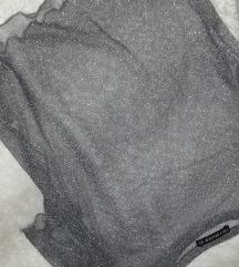 Prozirna siva majica