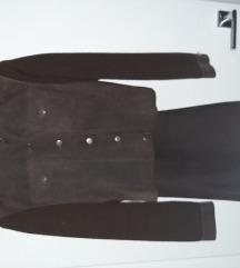 Kožni komplet jakna i hlače vel.40