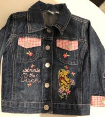 Jeans jakna Winnie the Pooh