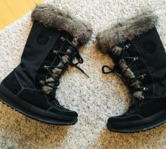 Vagabond crne čizme s krznom vel 38