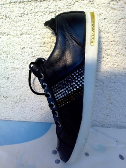Dolce Gabbana muške kožne tenisice broj 44.5