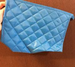 Kozmeticka torbica neseser plavi