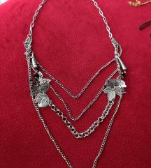 Duga kaskadna ogrlica