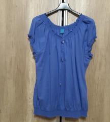Plava bluza, XXL