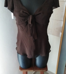 H&M smeđa majica