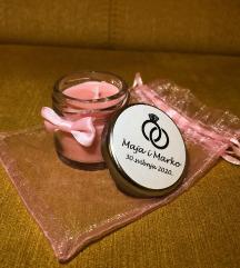 Mini mirisna personalizirana svijeća