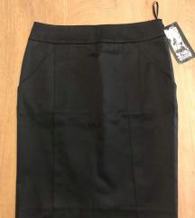 HAPPENING NOVA crna poslovna suknja