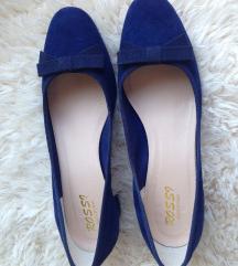 Rossi plave cipele brušena koža