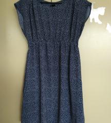 AKCIJA - točkasta haljina sa džepovima