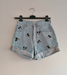 Zara Mickey Mouse shorts