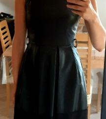 NOVO! Kozna kratka haljina