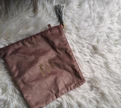Baršunasta pismo torbica sa resama