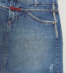 %C.W.F. Ravna traper suknja vel.16 ili S