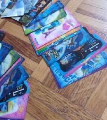 Strumfovi - 3 D karte od 1-26 kom