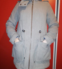 Sivi ženski kaput Clockhouse (C&A)