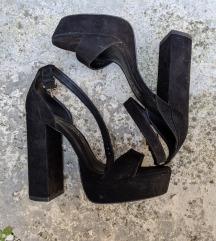 ❗POPUST%❗Crne sandale ❤