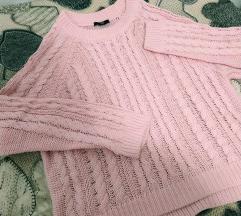 H&M baby rozi pulover, akcija🎀🎀