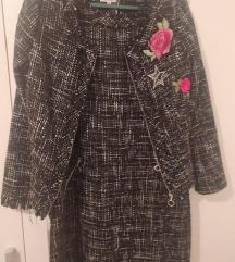 AKCIJA!!! Komplet haljina i jakna M NOVO🌸PT UKLJ