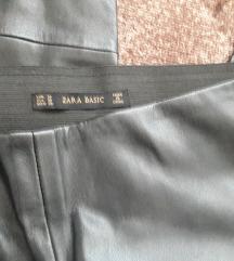 Zara kožne hlače 38/M