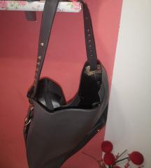 Ženska torba siva