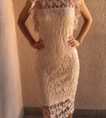 Svečana čipkasta haljina