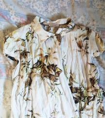 Image Haddad asimetrična floral bluza