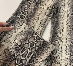 Bershka zmijske hlače