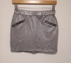 Srebrna suknja S/M