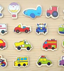 DRVENI MAGNETI - vozila i prometni znakovi