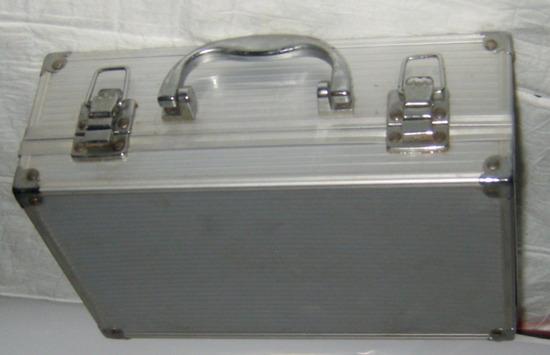 kofer metalni za kozmetiku, nakit i sl.
