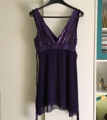 Ljubičasta haljina vel M/L