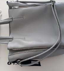 NOVA ledeno siva torba 2 u 1