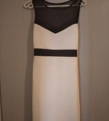 Crno bijela haljina 34