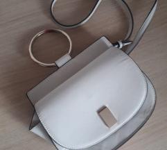 MANGO bijela torbica