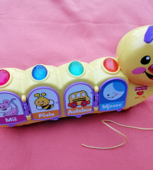 Fisher price gusjenica