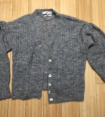 Siva vestica - jednom nošena