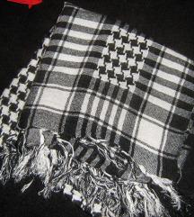 marama crno bijla palestinka