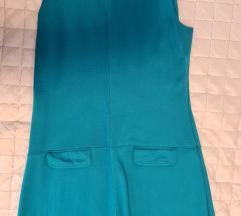 Tirkizno plava haljina